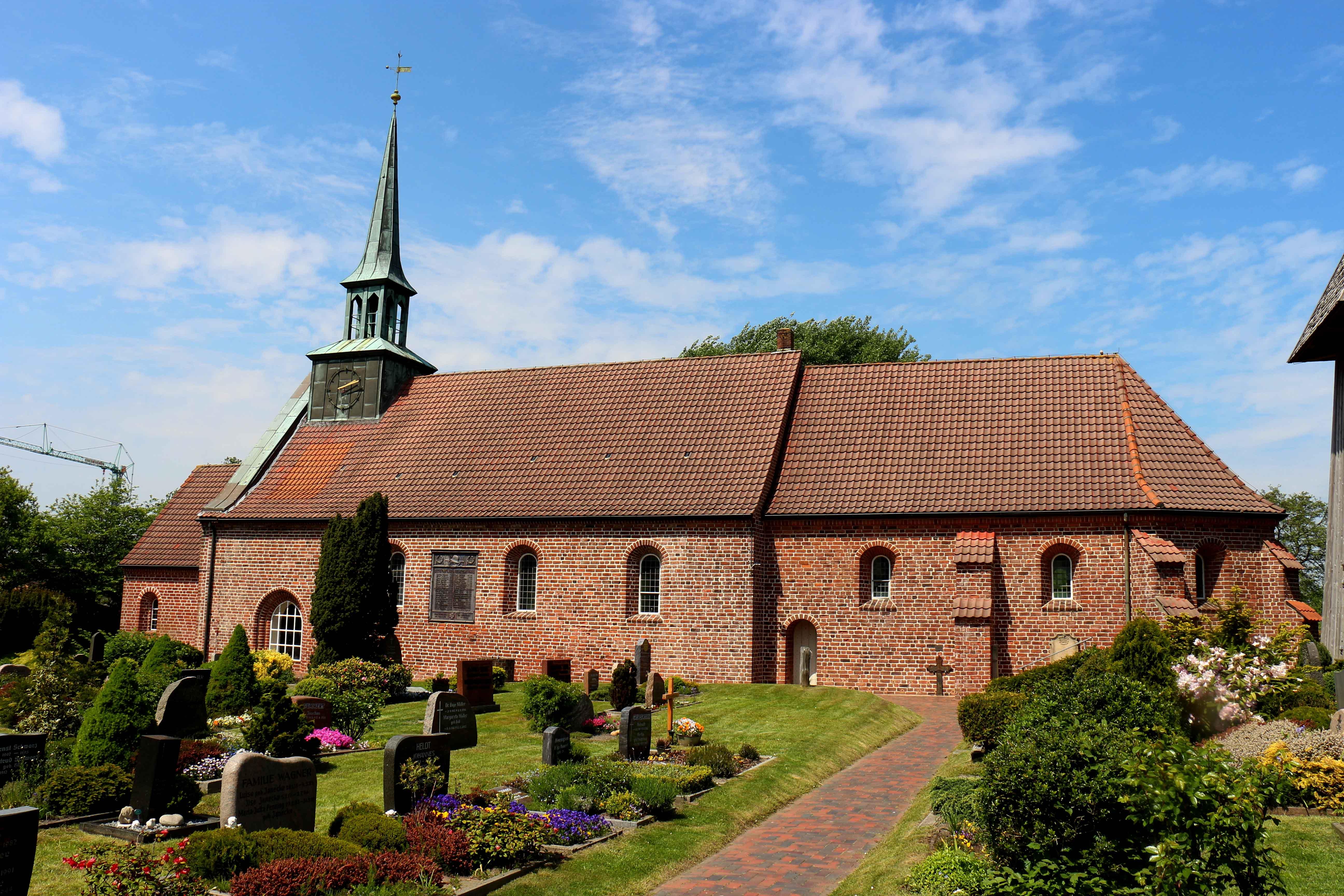 Kirche St Peter Ording